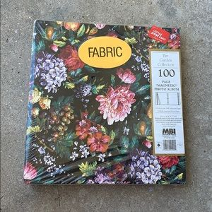 Other - The Garden Collection Fabric Photo Album